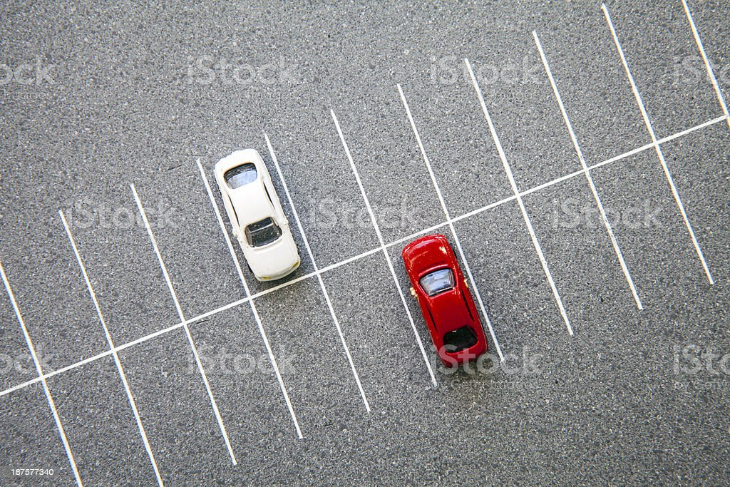 parking stock photo