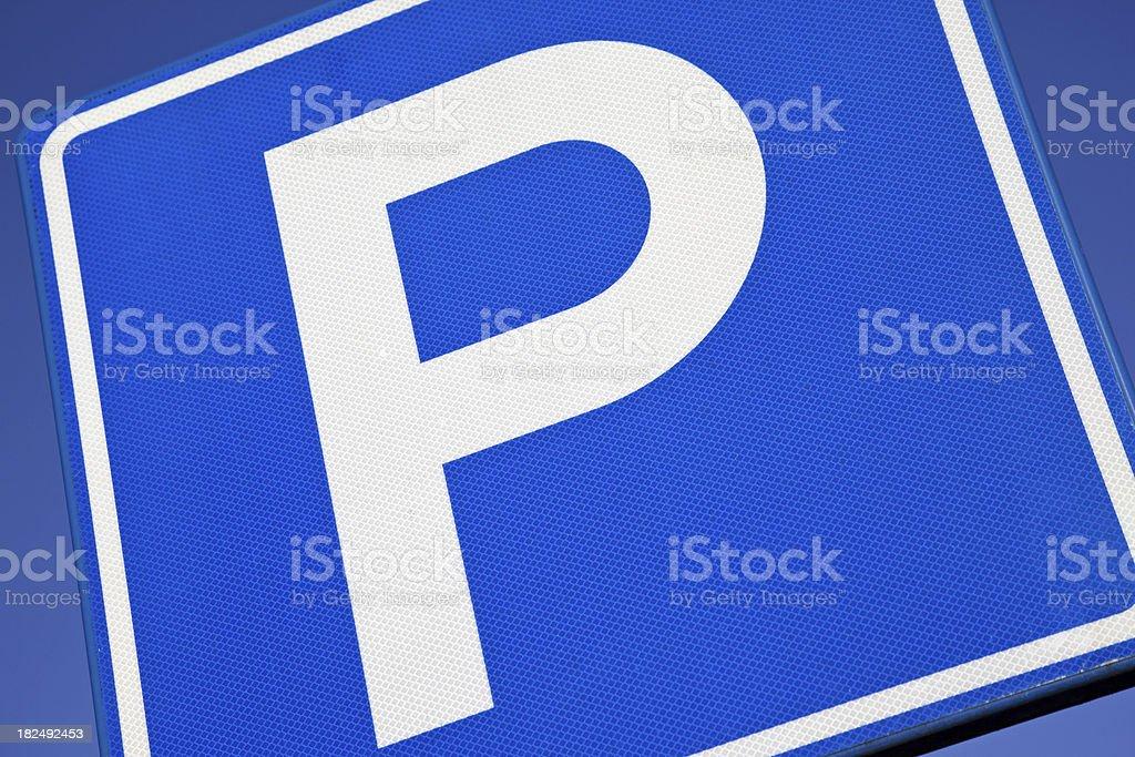 Parking sign # 2 XXXL royalty-free stock photo