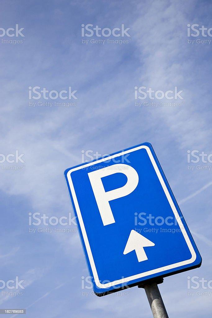 Parking sign # 3 XXXL royalty-free stock photo