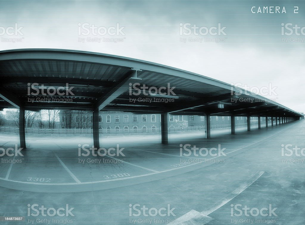 Parking space royalty-free stock photo