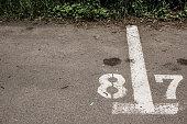 Parking spot delimitation