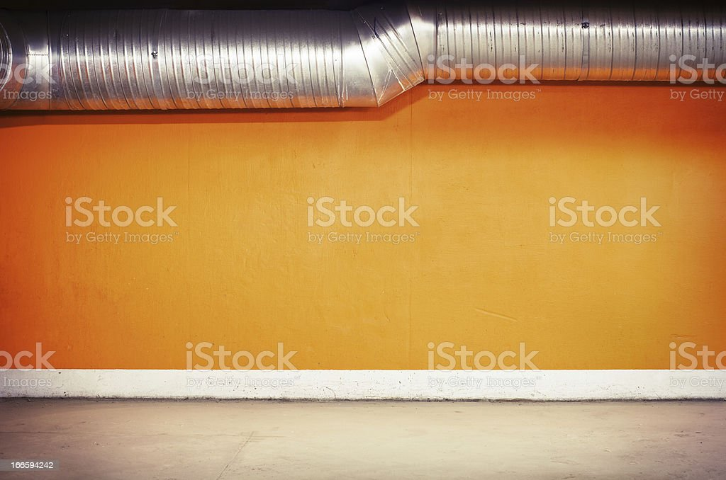 Parking wall royalty-free stock photo