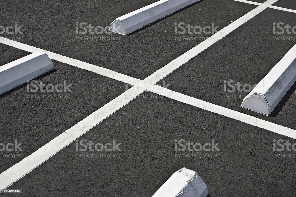 Parkinglot royalty-free stock photo