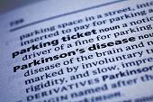 Parkinson's Disease: Dictionary Close-up