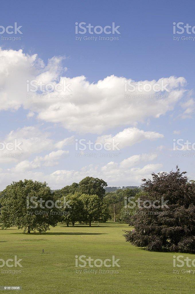 Parkland royalty-free stock photo