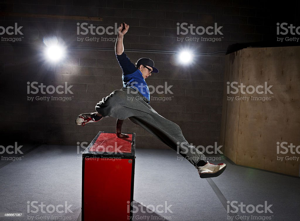 Parkour Free Running stock photo