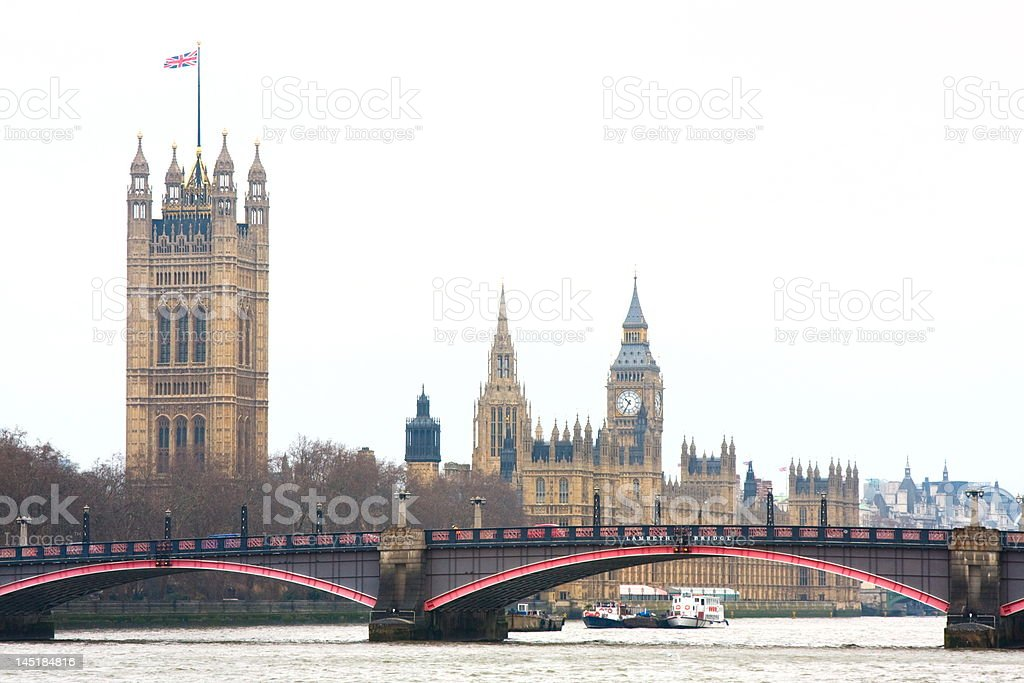 Parlament House in London royalty-free stock photo