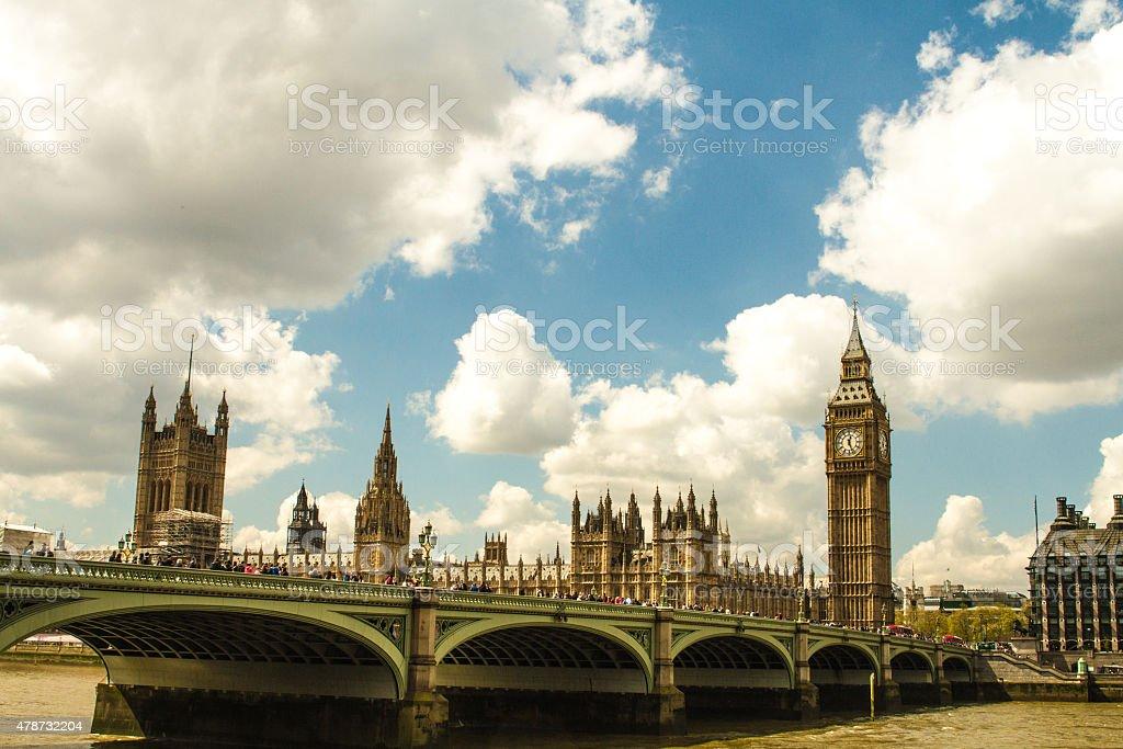 Parlamentu i Big Ben zbiór zdjęć royalty-free