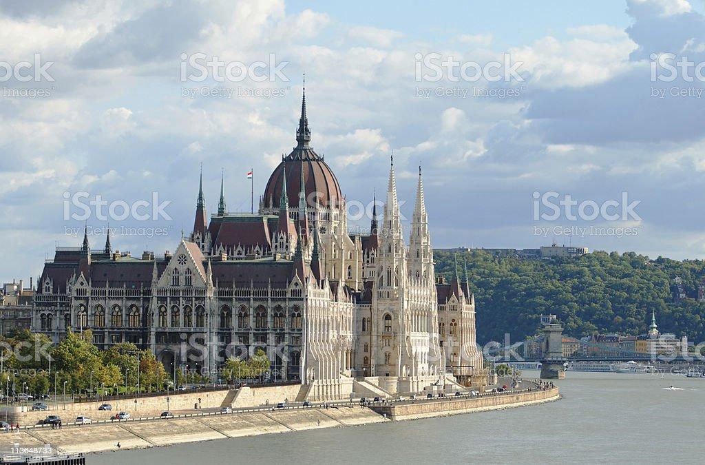 Parliament, Budapest, Hungary royalty-free stock photo