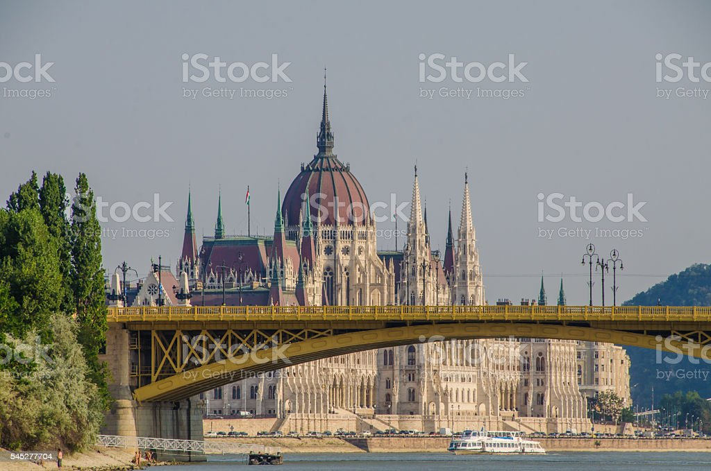 Parliament, Budapest, Hungary stock photo