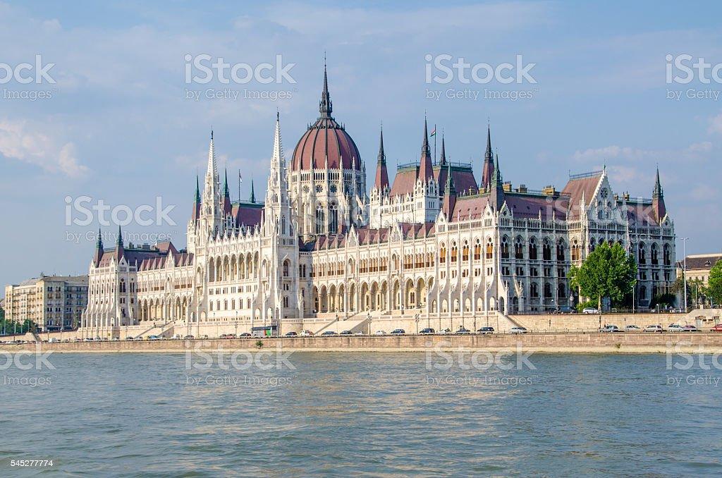 Parliament, Budapest, Hungary stock photo