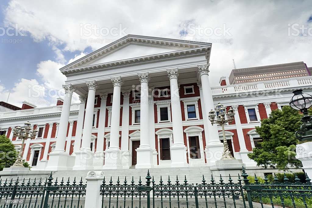 Parliament Building in Cape Town royalty-free stock photo