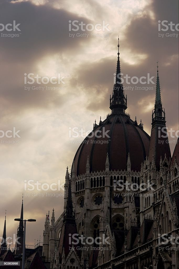Parliament building royalty-free stock photo