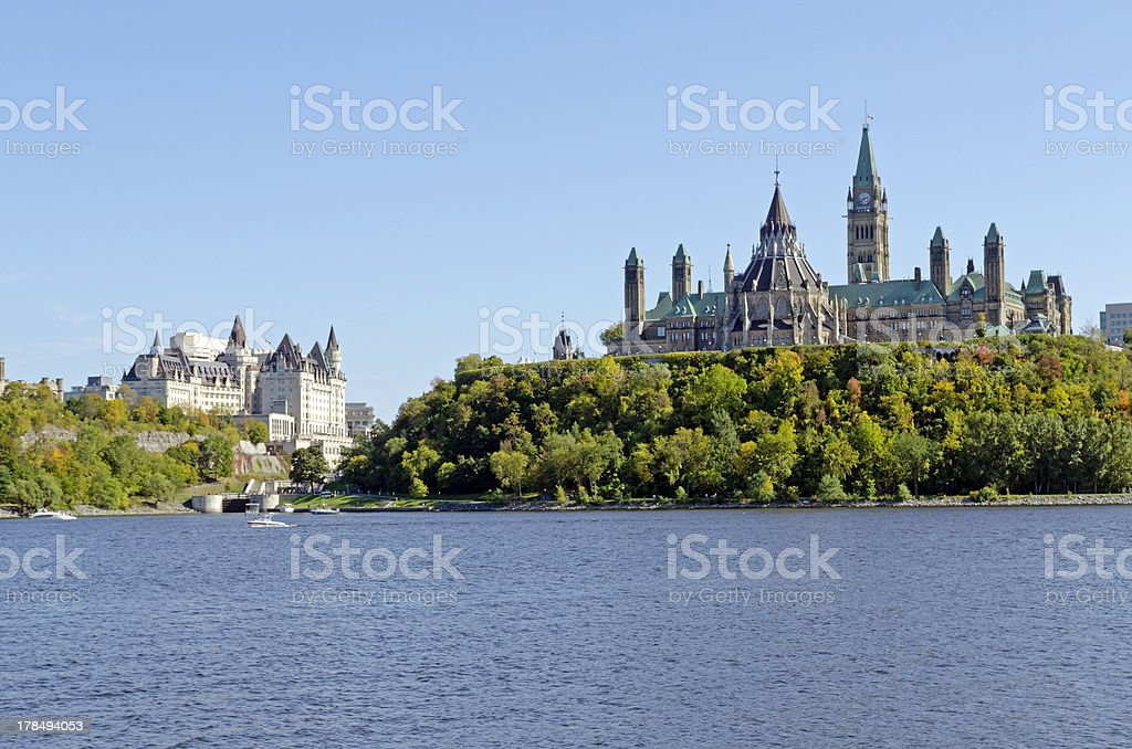 Parliament Buildings royalty-free stock photo