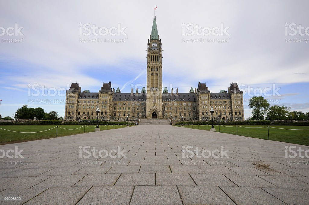 Parliament Hill royalty-free stock photo