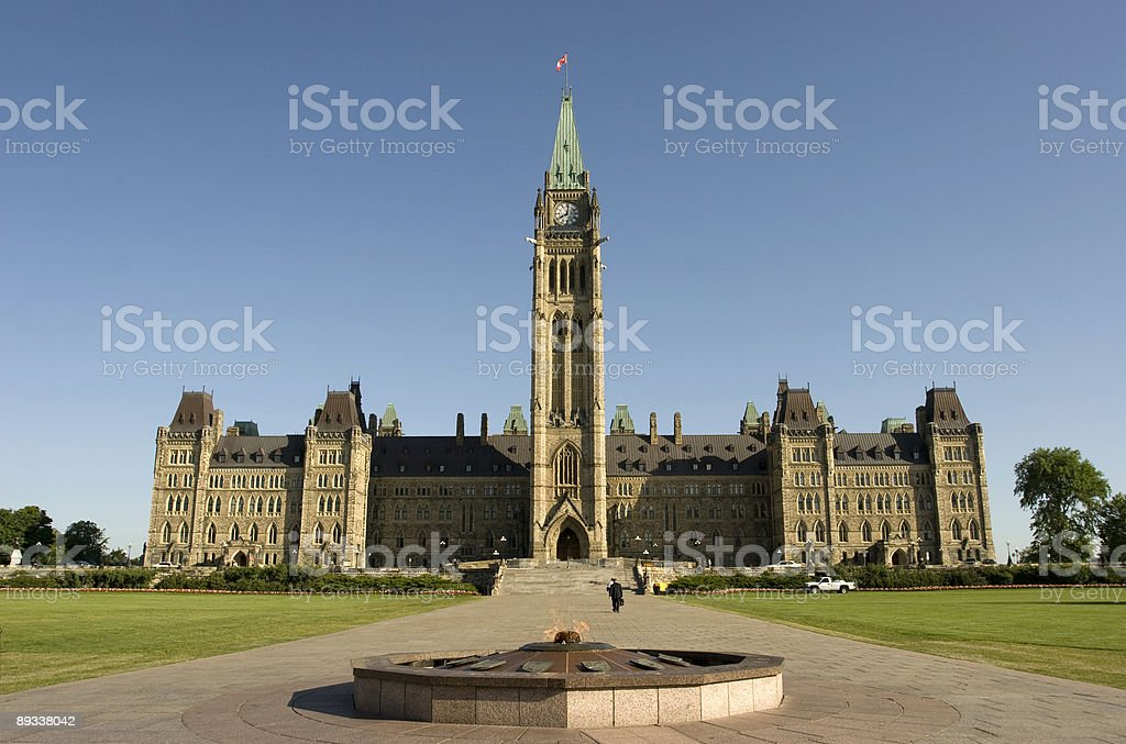 Parliament Hill Scenic royalty-free stock photo