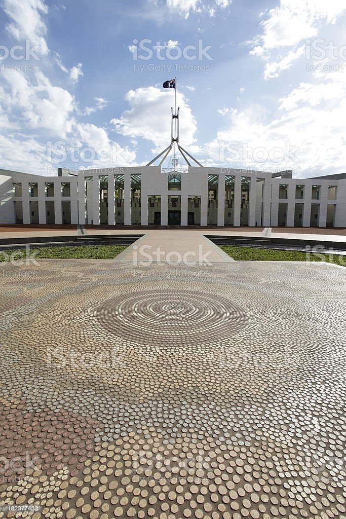 'Parliament House, Canberra' stock photo
