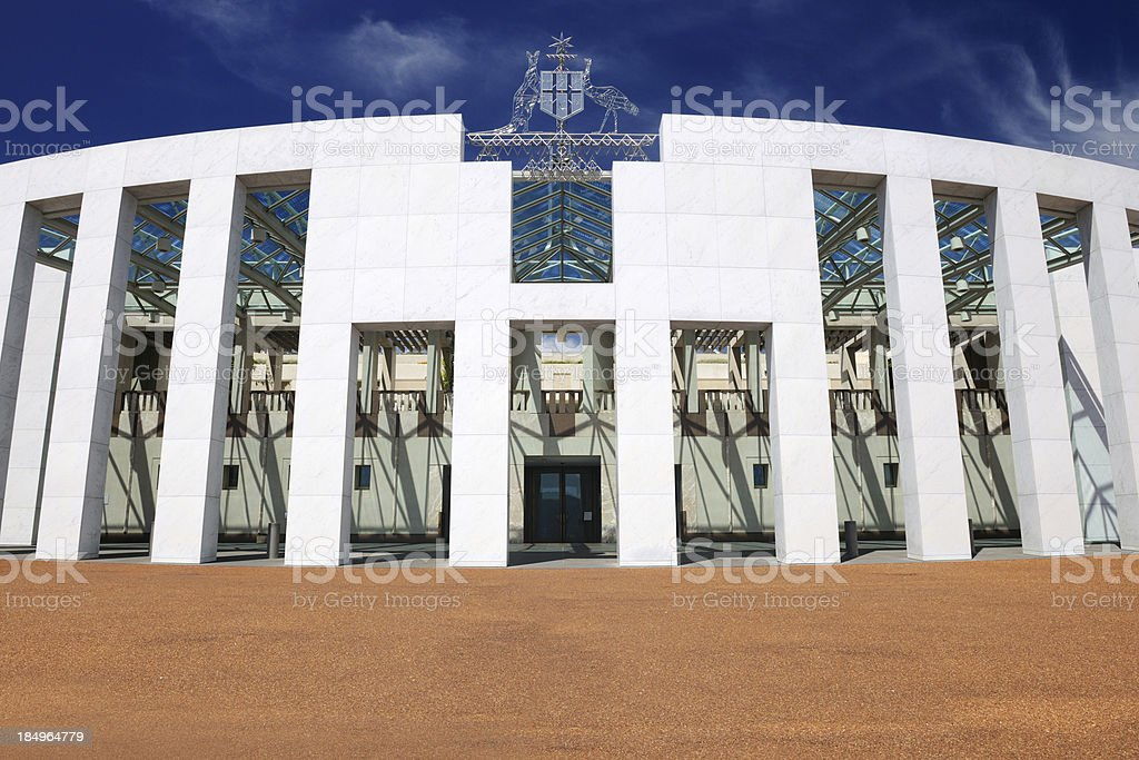 'Parliament House Courtyard, Canberra, Australia (XXXL)' stock photo