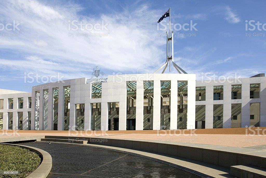 Parliament House stock photo