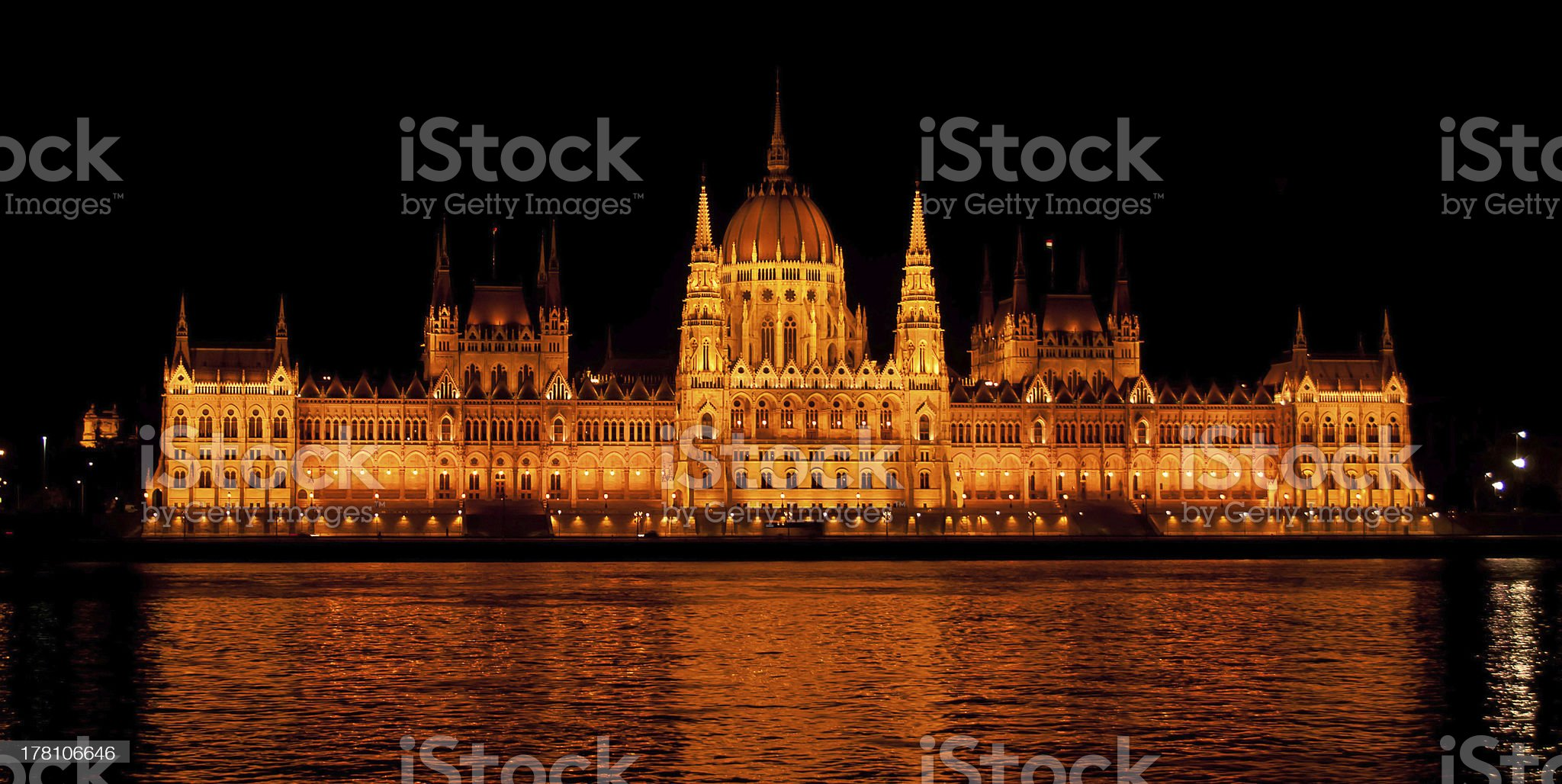 Parliament in Budapest. royalty-free stock photo