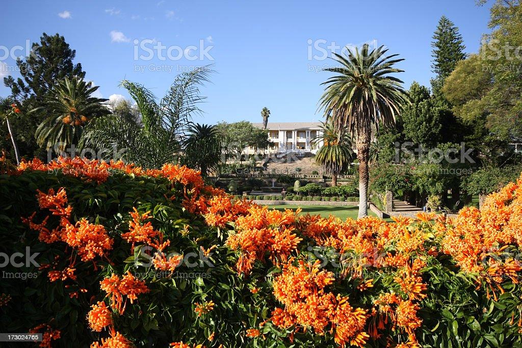 parliament in windhoek stock photo