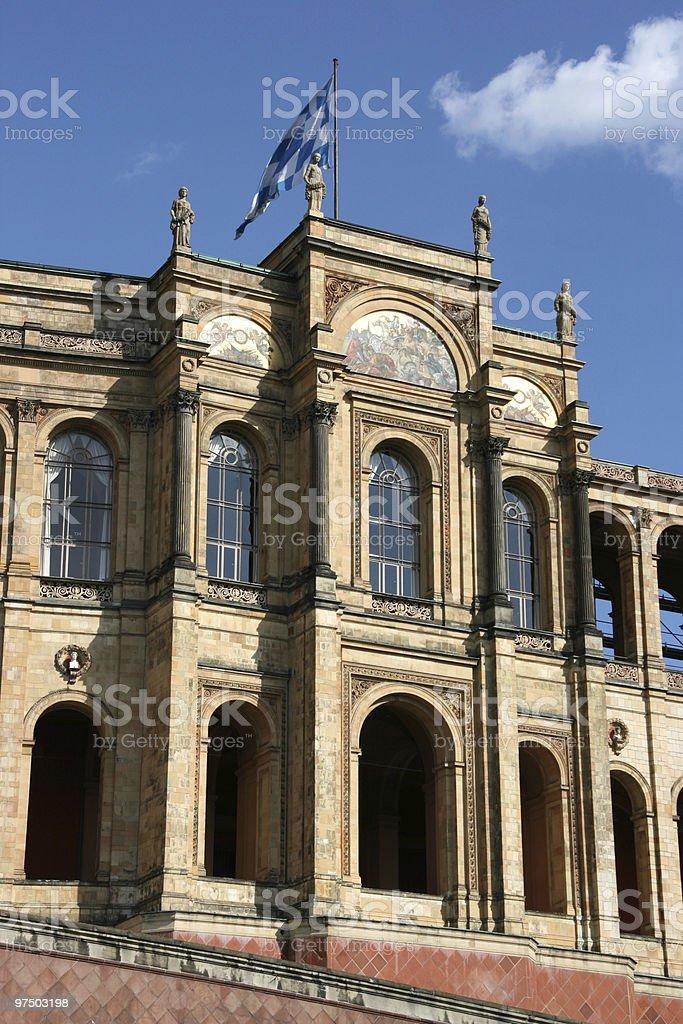 Parliament of Bavaria stock photo