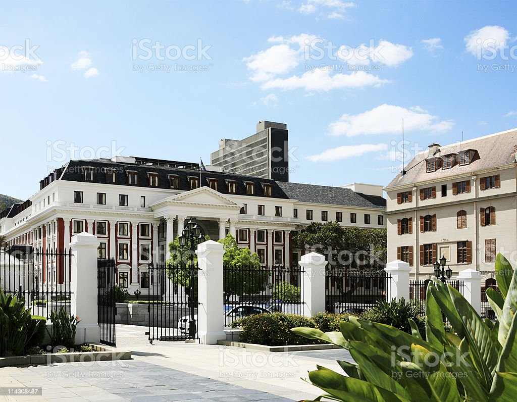 Parliament of South Africa royalty-free stock photo