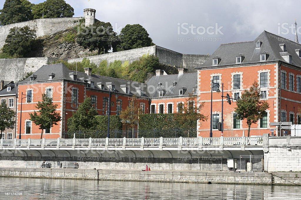 Parliament of Wallonia in Namur Belgium stock photo