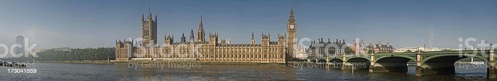 Parliament Panorama royalty-free stock photo