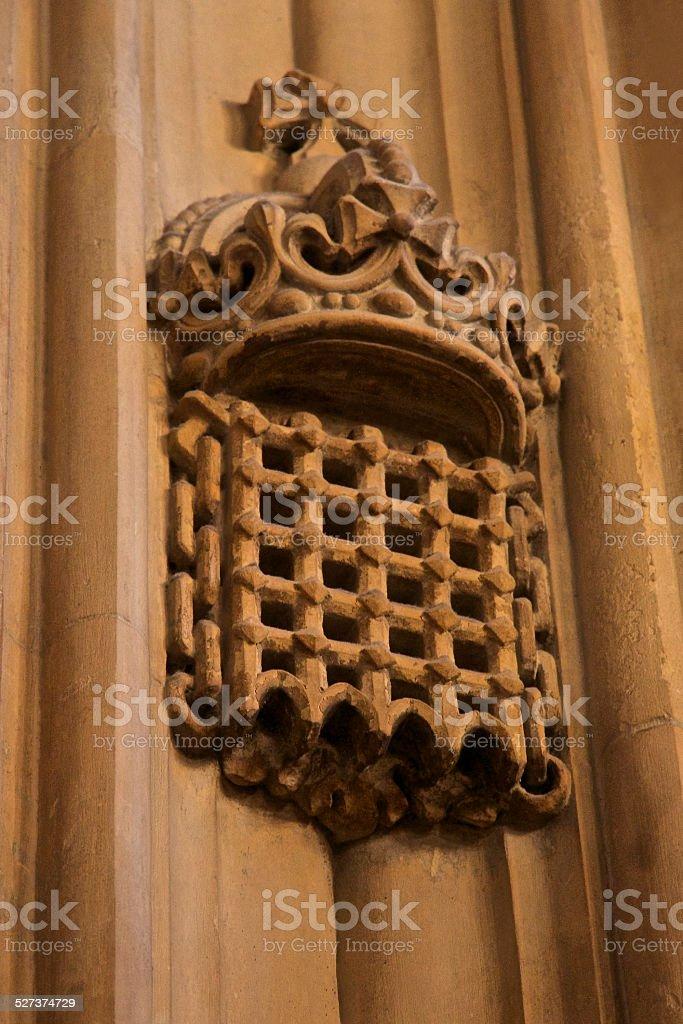 UK Parliament Portcullis stock photo