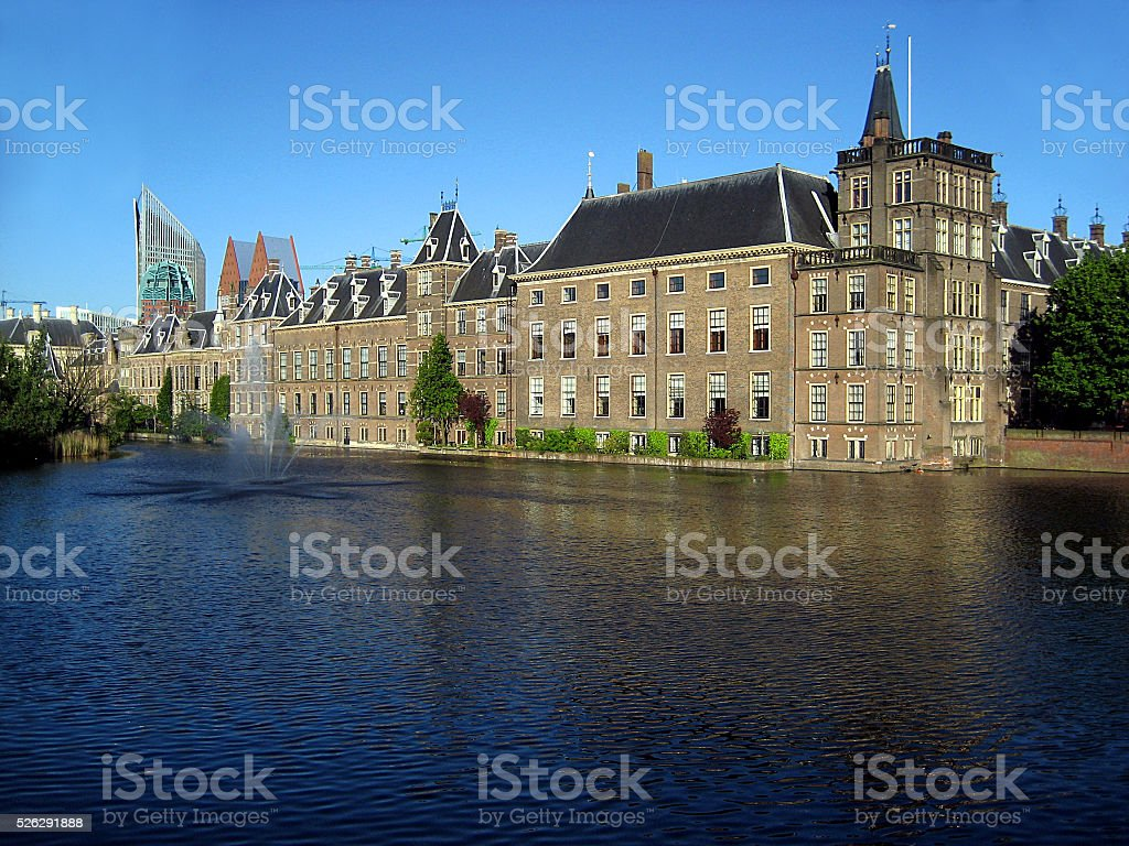 Parliament, The Hague, The Netherlands stock photo