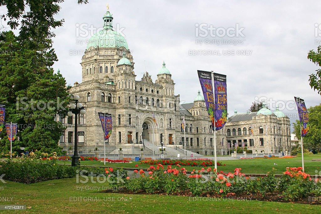 Parliament, Victoria, British Columbia stock photo