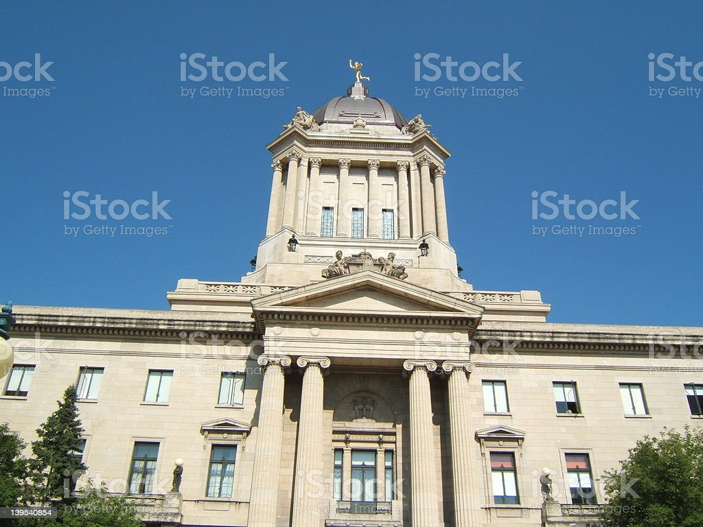 Parliment Building royalty-free stock photo