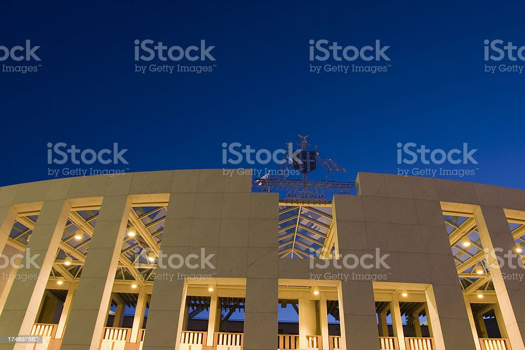 'parliment house, detail' stock photo