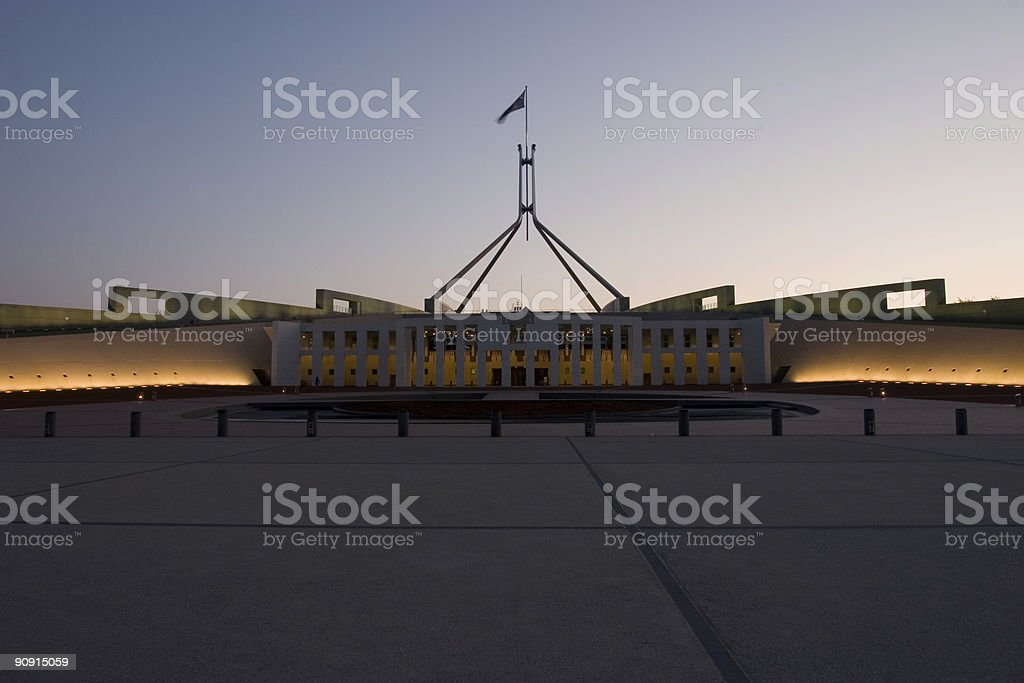 parliment house stock photo