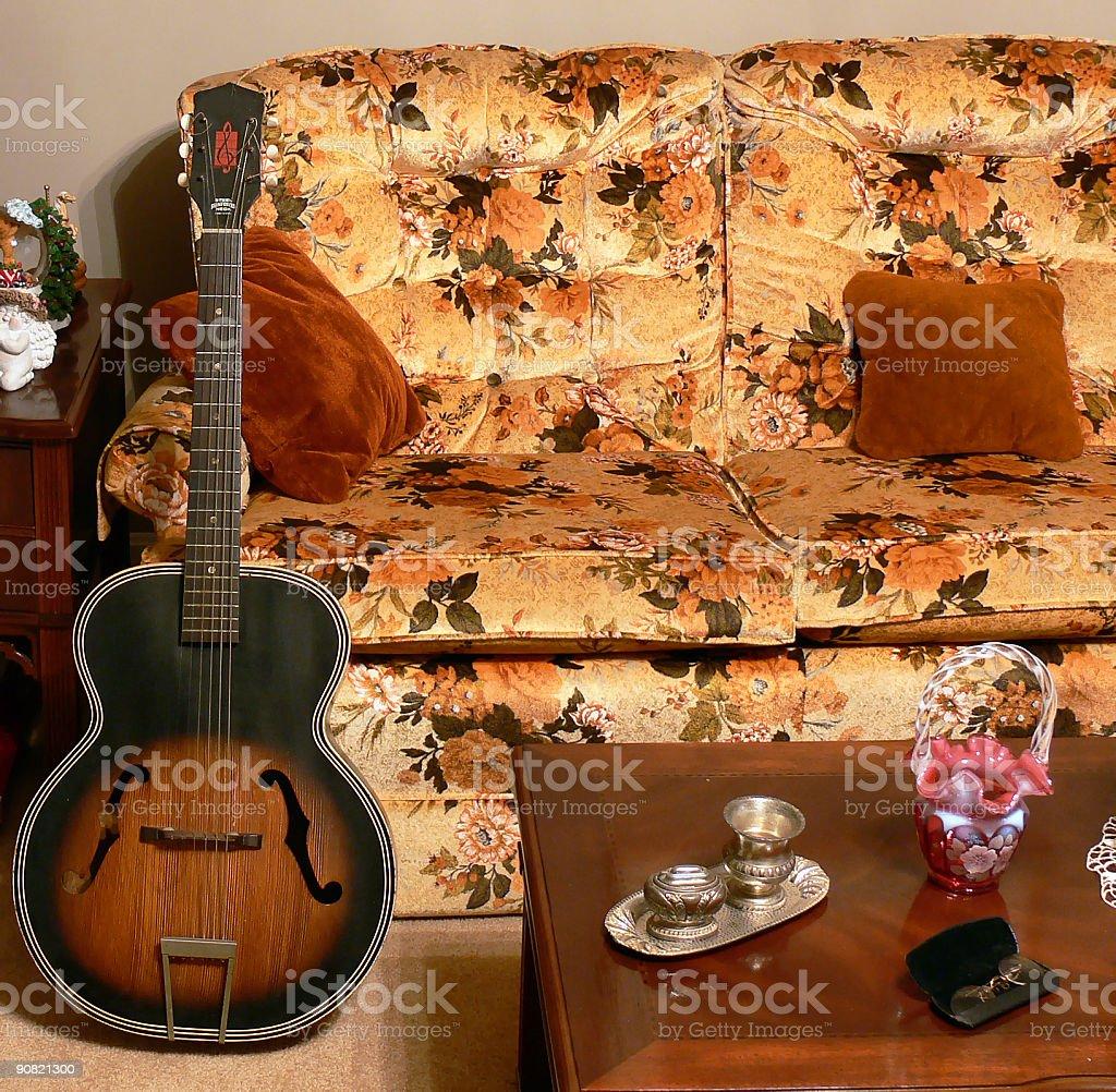 Sala de música foto royalty-free