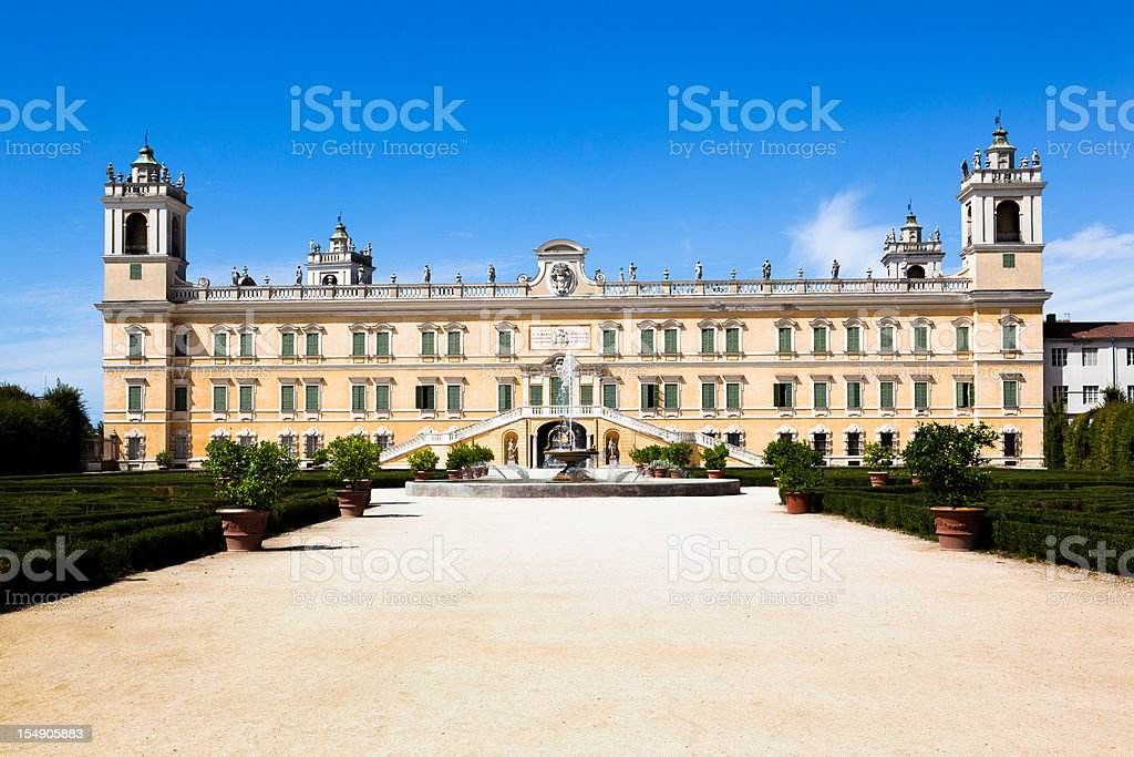 Parma, Colorno Villa Ducale royalty-free stock photo