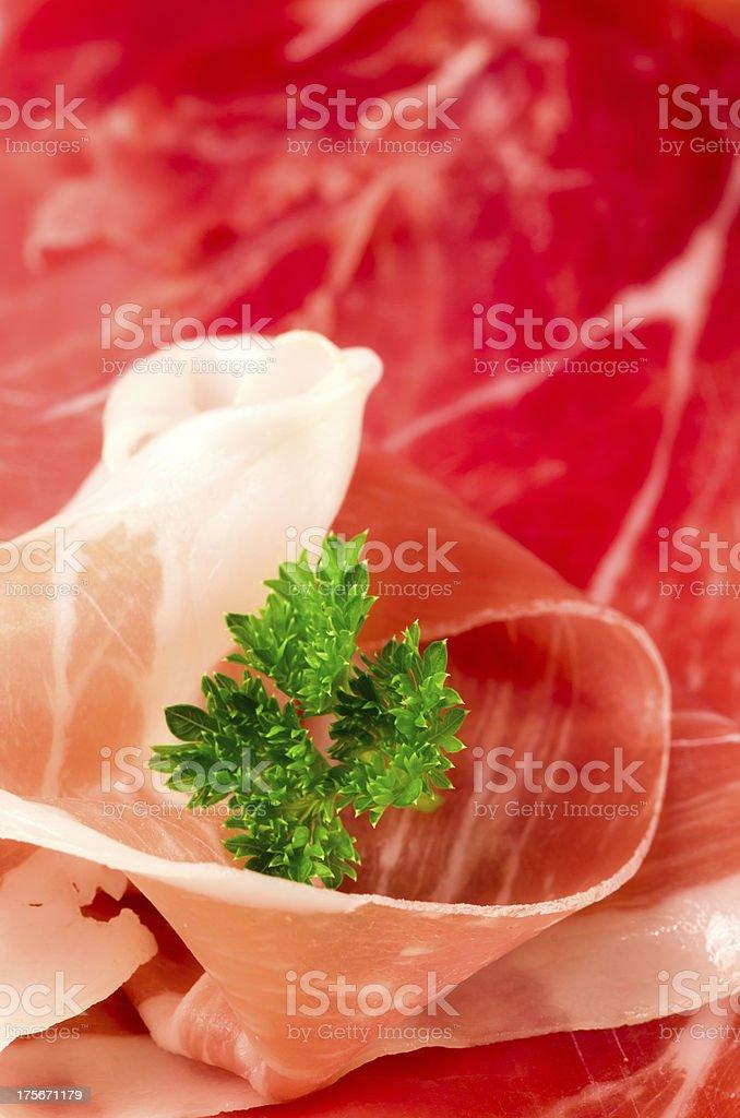 Parma ham. Italy. royalty-free stock photo
