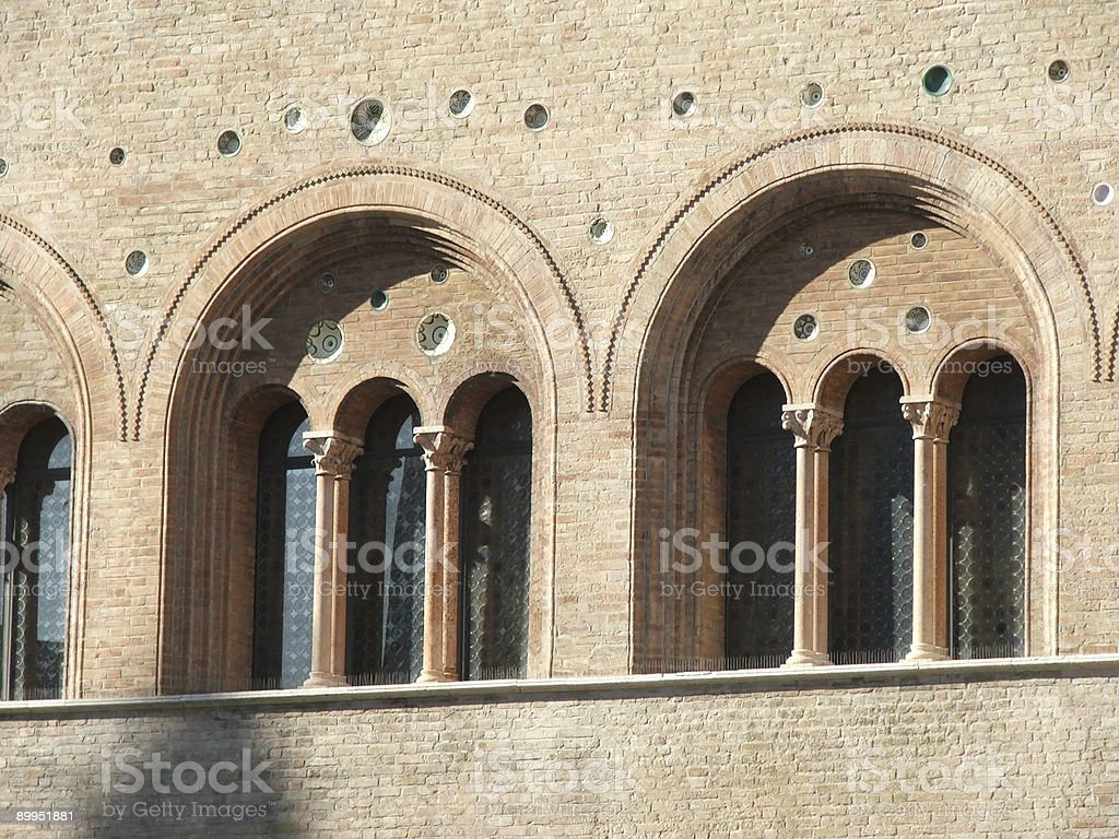 Parma-Italy-Bishop's palace royalty-free stock photo