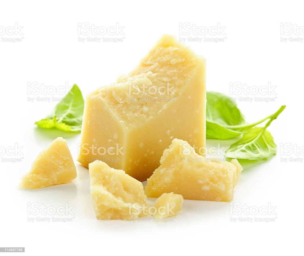 Parmesan cheese royalty-free stock photo