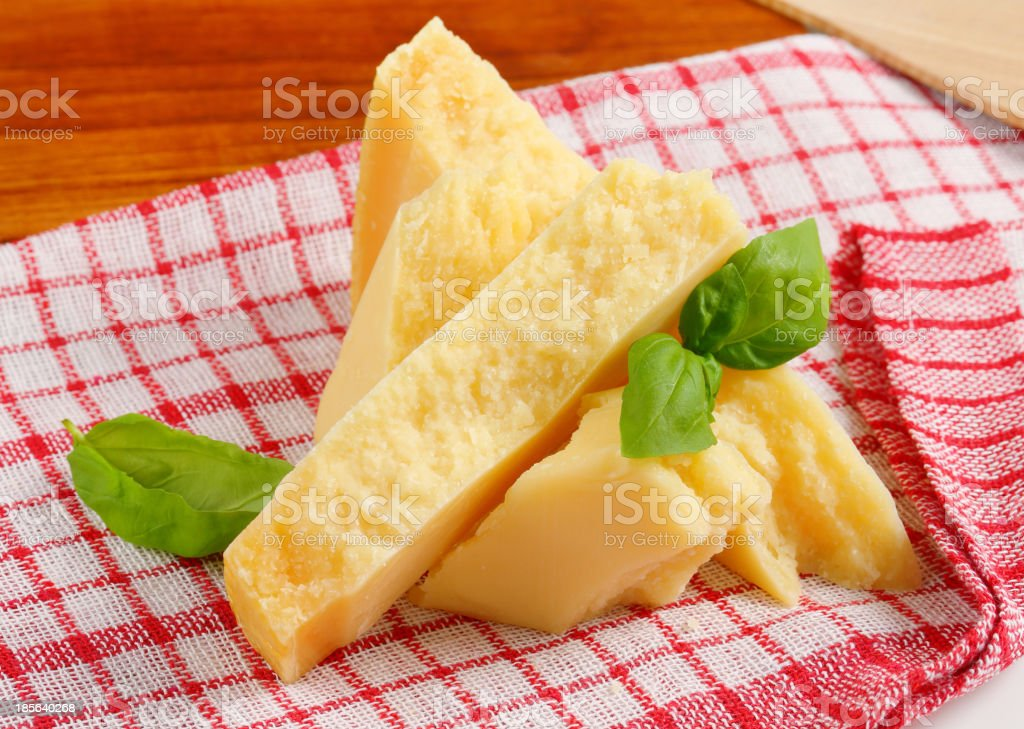 Parmesan cheese royalty-free stock photo