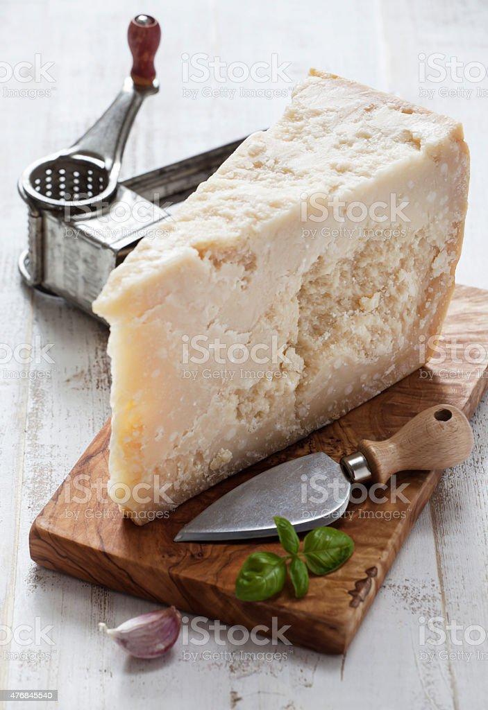 Parmesan stock photo