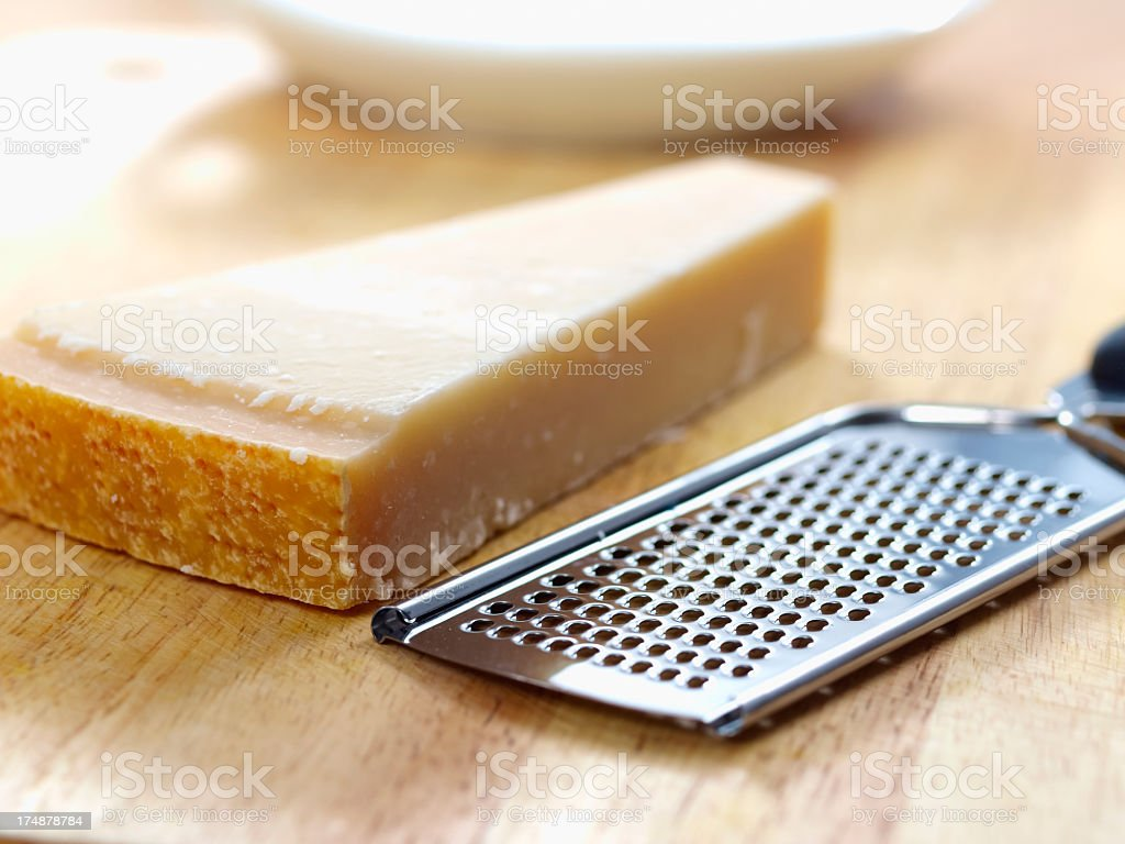 Parmigiano Reggiano royalty-free stock photo