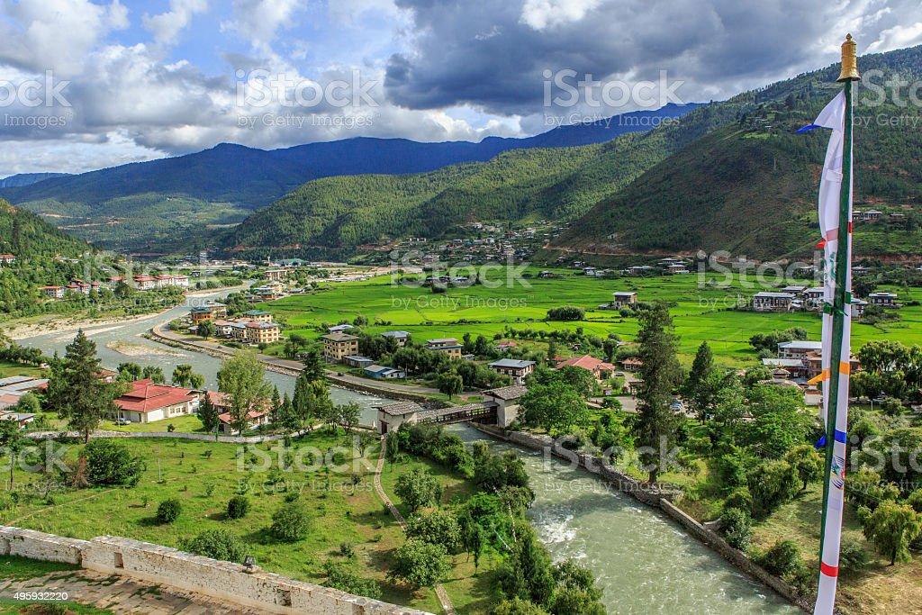 Paro, Bhutan stock photo