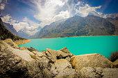 Paron Lake in Perú