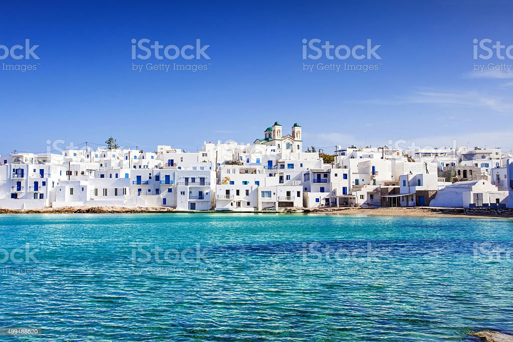 Paros island, Greece stock photo