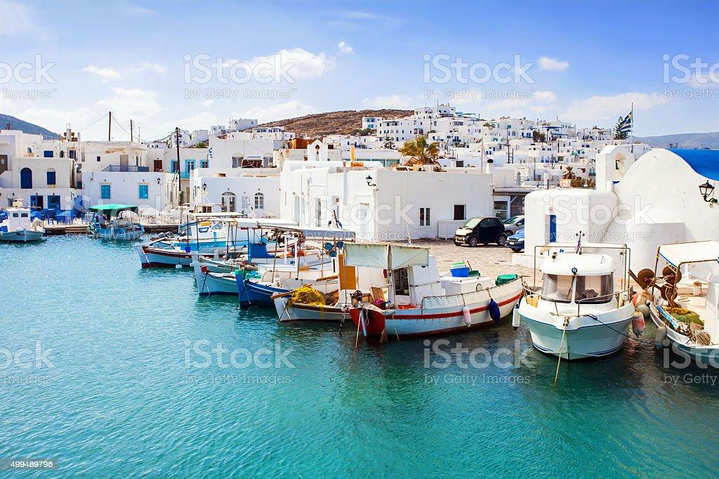Paros island, Greece stock photo