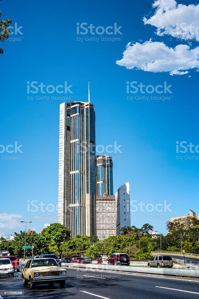 Parque Central buildings, Caracas, Venezuela stock photo
