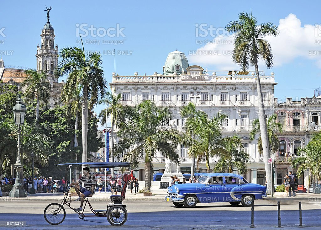 Parque Central,Havana,Cuba stock photo