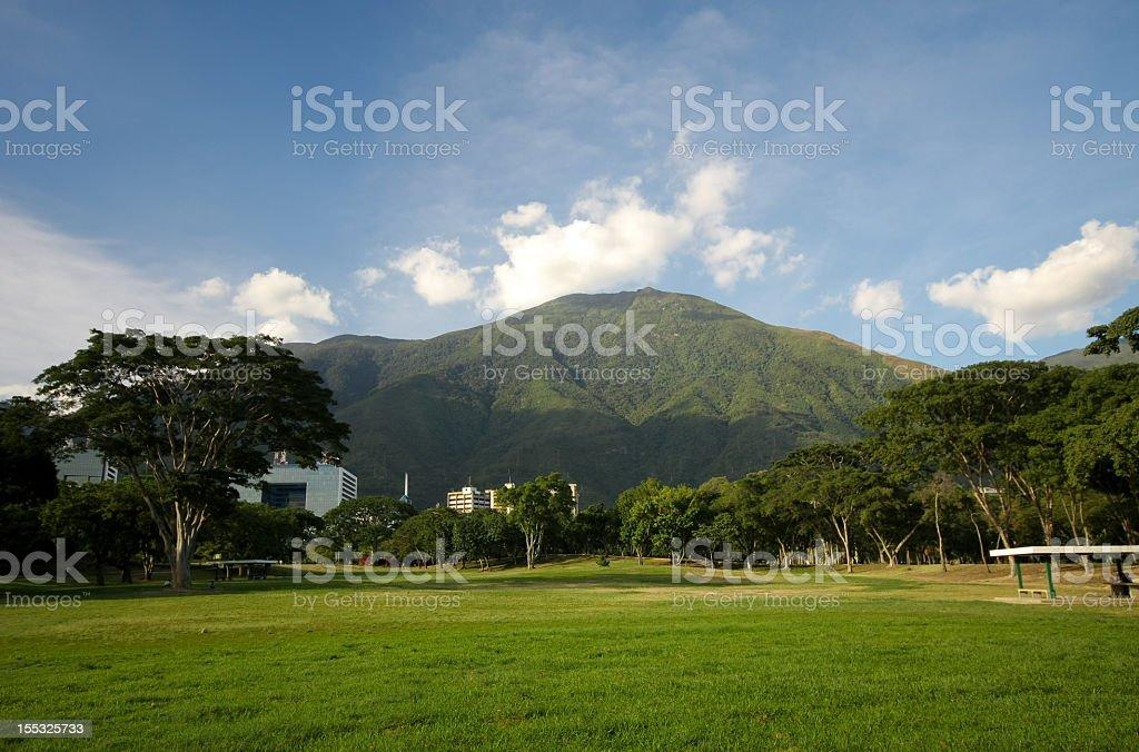 Parque del Este stock photo